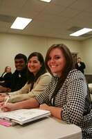 Image of students in class